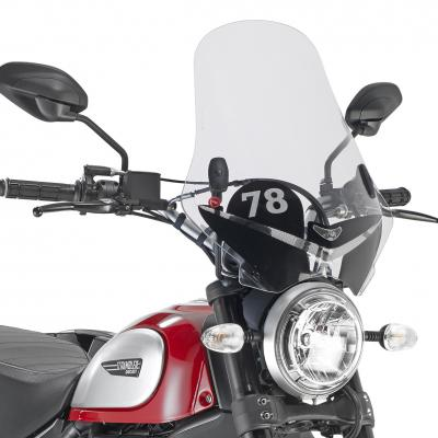 Kính chắn gió xe Ducati Scrambler 800 (2015-2020) 7407AS + A7407A