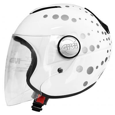 Nón bảo hiểm V10.1 Dot White